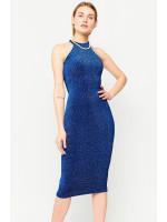 Платье «Айвори» синего цвета