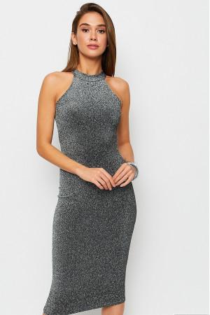 Сукня «Айворі» сріблястого кольору