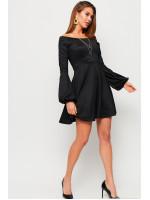 Платье «Астрид» черного цвета