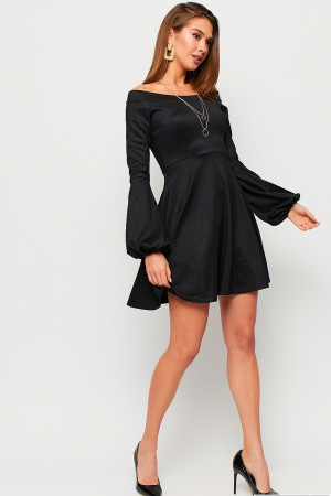 Сукня «Астрід» чорного кольору