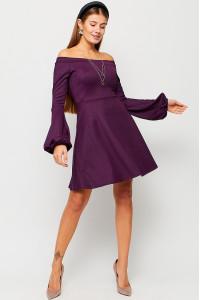 Платье «Астрид» фиолетового цвета