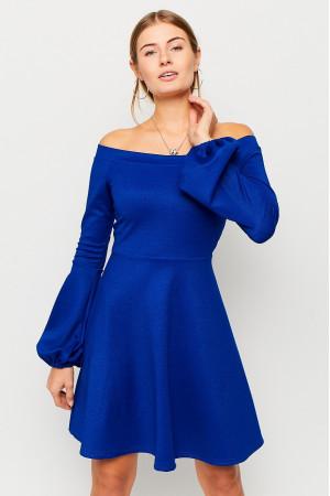 Платье «Астрид» синего цвета