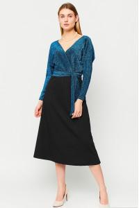 Платье «Надин» бирюзового цвета