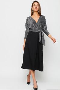 Сукня «Надін» сріблястого кольору