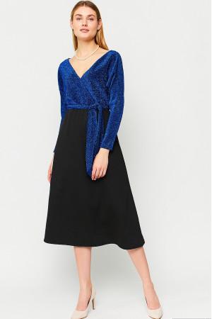 Сукня «Надін» синього кольору