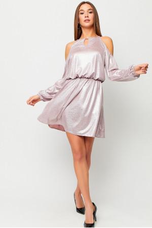 Платье «Сабина» пудрового цвета