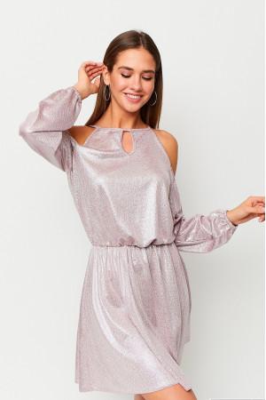 Сукня «Сабіна» пудрового кольору