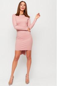 Сукня «Нуар» пудрового кольору