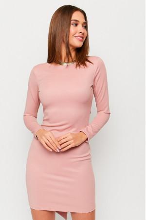 Платье «Нуар» пудрового цвета