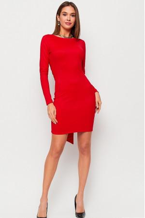 Сукня «Нуар» червоного кольору