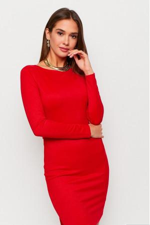 Платье «Нуар» красного цвета