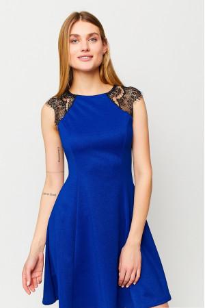 Платье «Брют» синего цвета