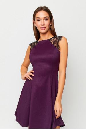 Платье «Брют» фиолетового цвета