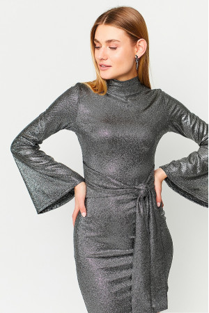 Платье «Сьюзи» черного цвета
