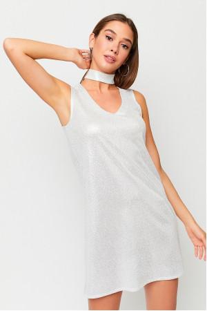 Платье «Мемфис» белого цвета