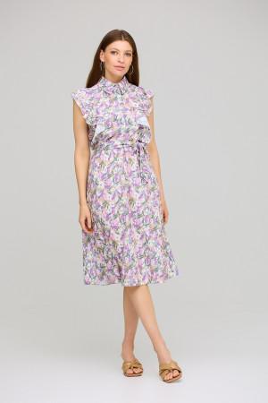 Платье «Бетани» лилового цвета