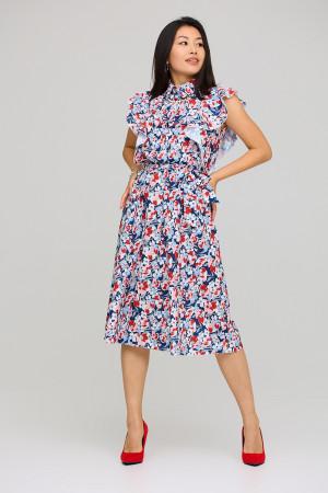 Платье «Бетани» красного цвета