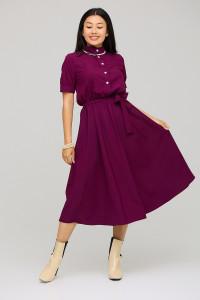 Платье «Фейт» цвета бургунди