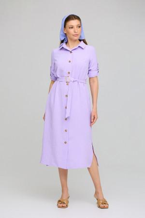 Платье «Адель» лилового цвета