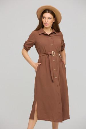 Сукня «Адель» шоколадного кольору