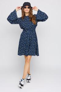 Платье «Вивьен» синего цвета