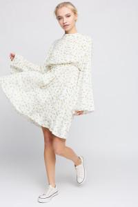 Платье «Вивьен» белого цвета
