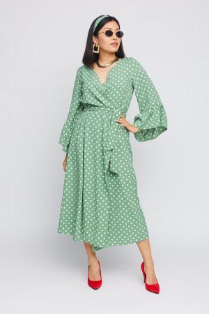 Сукня «Бетті» оливкового кольору