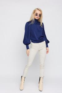 Блуза «Аріель» синього кольору