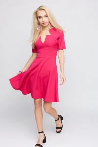 Сукня «Рей» малинового кольору