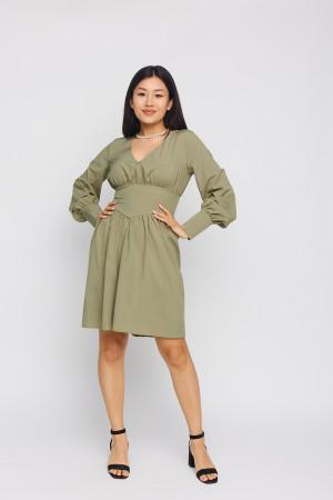 Платье «Вэнди» цвета хаки
