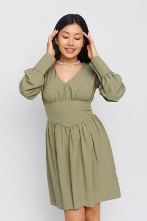 Сукня «Венді» кольору хакі