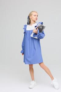 Сукня «Вуд» синього кольору