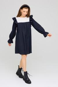 Сукня «Вуд» темно-синього кольору