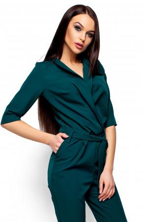 Комбинезон «Филиция» темно-зеленого цвета