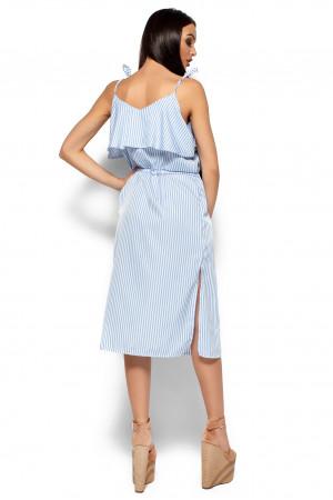 Платье «Бохо» голубого цвета