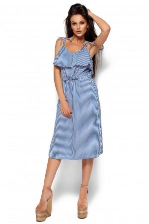 Сукня «Бохо» синього кольору