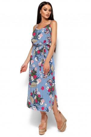 Платье «Мари» синего цвета