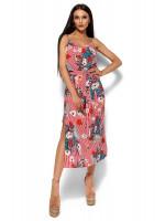 Платье «Мари» красного цвета