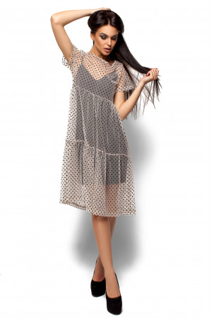 Сукня «Джина» бежевого кольору