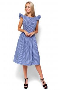 Платье «Регина» синего цвета