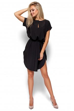 Платье «Тринити» черного цвета