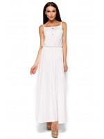 Платье «Версаль» белого цвета