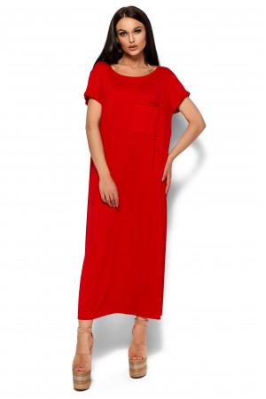 Сукня «Гвінет» червоного кольору