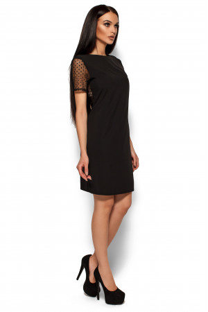 Платье «Шанхай» черного цвета
