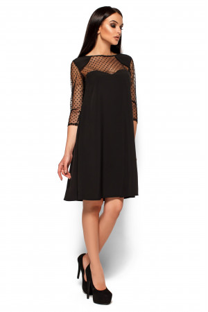Платье «Рина» черного цвета