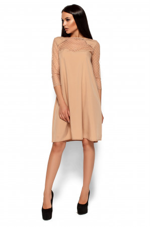 Сукня «Ріна» бежевого кольору