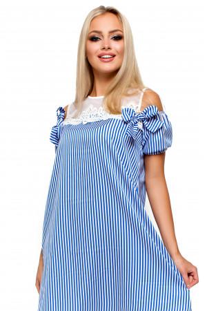 Сукня «Ківі» синього кольору
