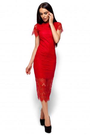 Платье «Мелис» красного цвета