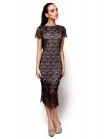 Платье «Мелис» черного цвета