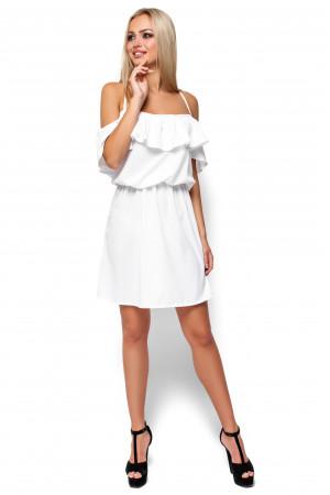 Платье «Дина» белого цвета